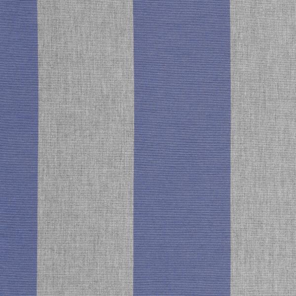 Markisenstoff Dralon® Design 53 Grau Blau Blockstreifen