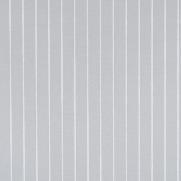 Markisenstoff Dralon® Design 79 Hellgrau Nadelstreifen Weiß