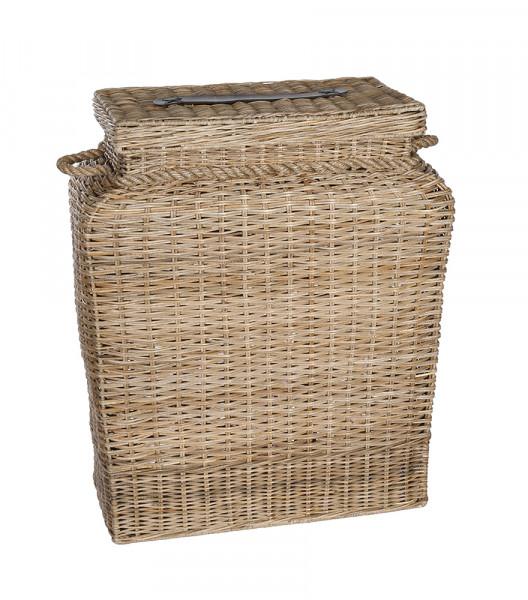Wäschekorb Wäschebox aus Naturrattan ca. 80x66x30cm