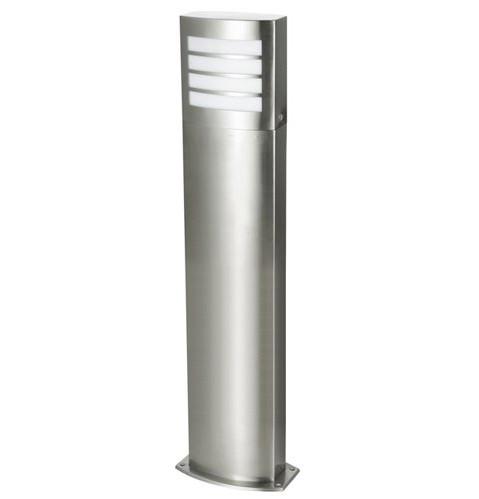 """Edelstahl Standleuchte """" Texas """" E27-Fassung 80cm hoch und LED geeignet"""