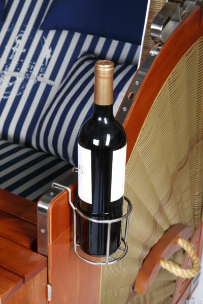 Flaschenhalter aus Edelstahl universell verwendbar