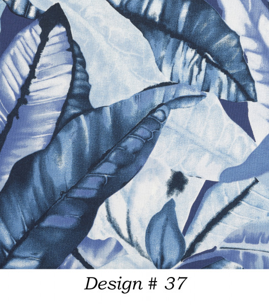 Markisenstoff Dralon® Design 37 Jungle Blau