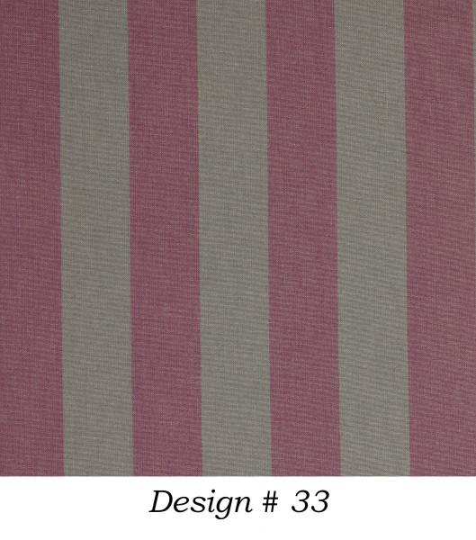 Markisenstoff Dralon® Design 33 Flieder Dunkelgrau gestreift