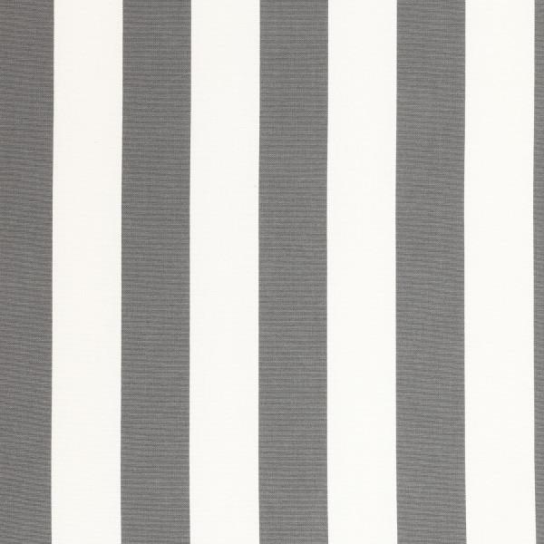 Markisenstoff Dralon® Design 47 Grau Weiß Blockstreifen