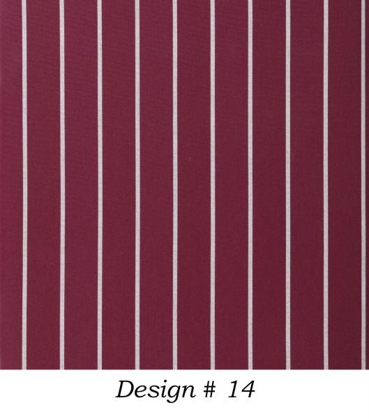 Markisenstoff Dralon® Design 14 Flieder Nadelstreifen Weiß