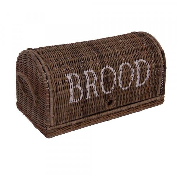 Brotbox / Brotkorb aus Naturrattan ca. 47x26x25cm mit 2 Tragegriffen