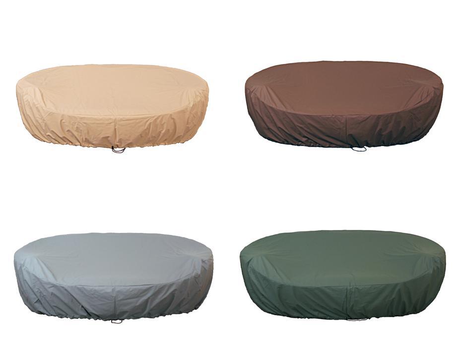 atmungsaktive abdeckhaube passend zur gartenmuschel sevilla 2 in 4 verschiedenen farben. Black Bedroom Furniture Sets. Home Design Ideas