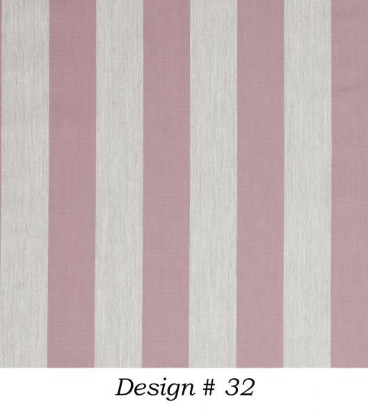 Markisenstoff Dralon® Design 32 Altrosa Hellgrau gestreift